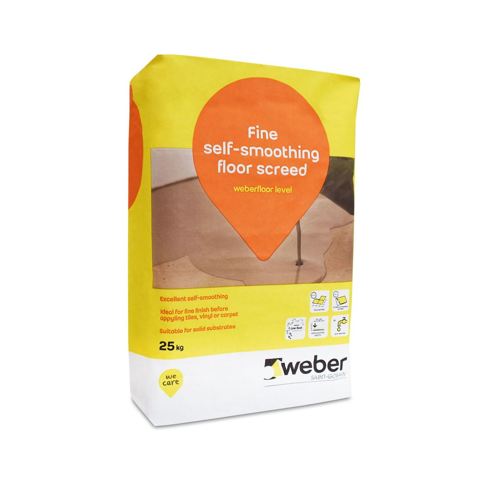 Weberfloor Level Self Smoothing Concrete Floor Compound