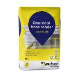 weber one coat render mix — basecoat for rendering outside wall, weber OCR