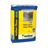 weberfloor 4310 fibre flow — flexible self levelling compound alternative to a latex floor levelling compound or latex floor screed