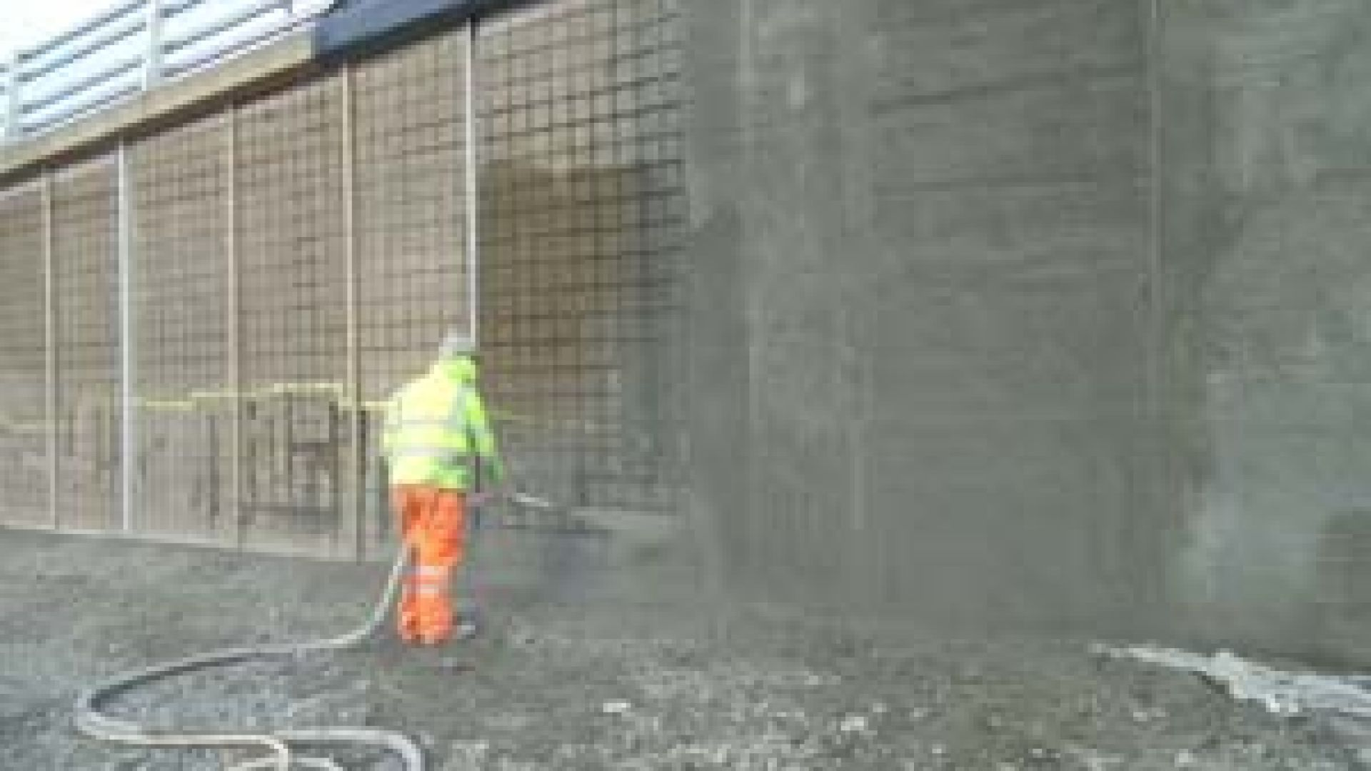 Sprayed Concrete Delivers Essential Repair To Retaining Wall