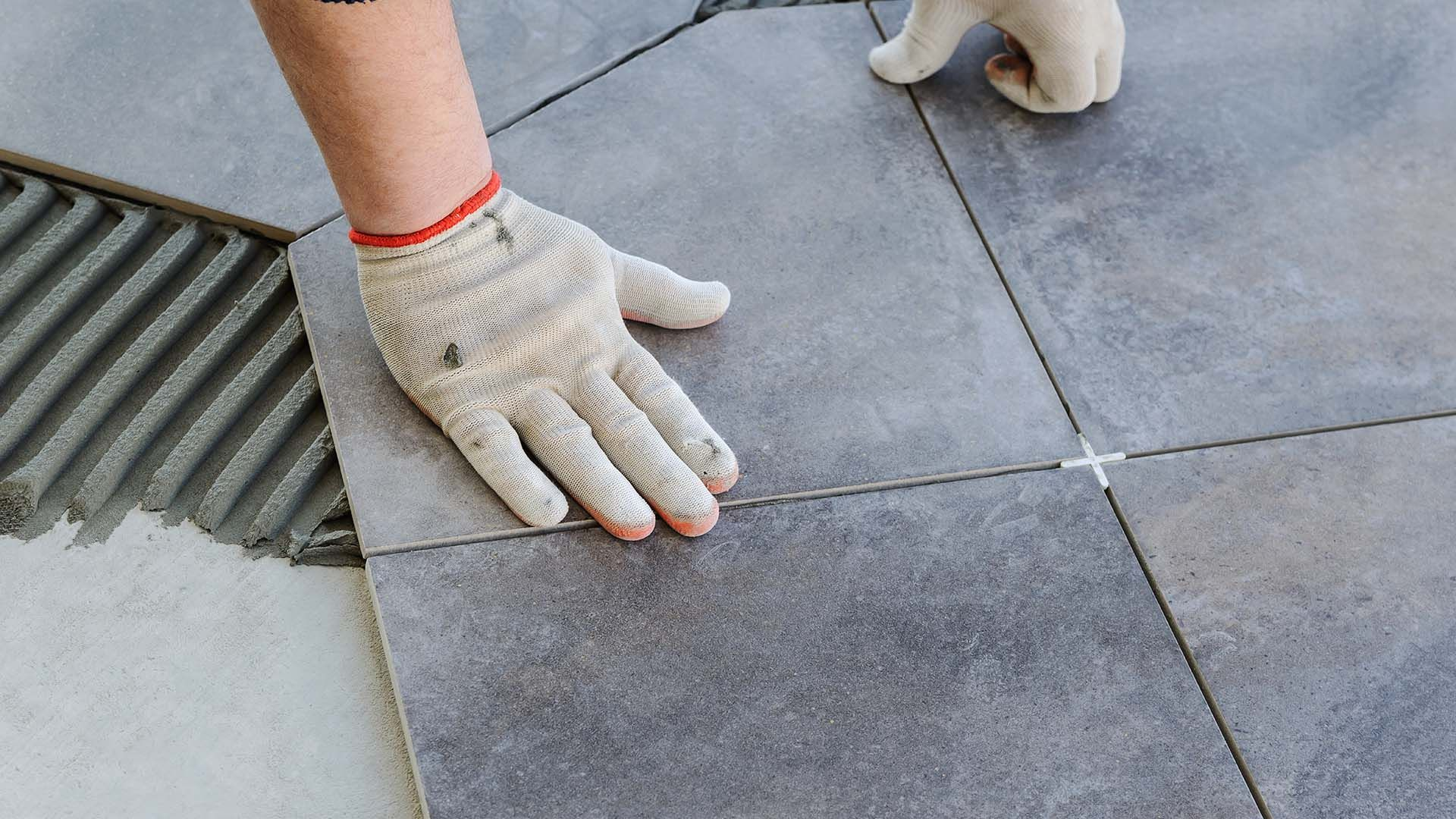 Laying Tile On Uneven Floors In 4 Easy Steps Weber Uk