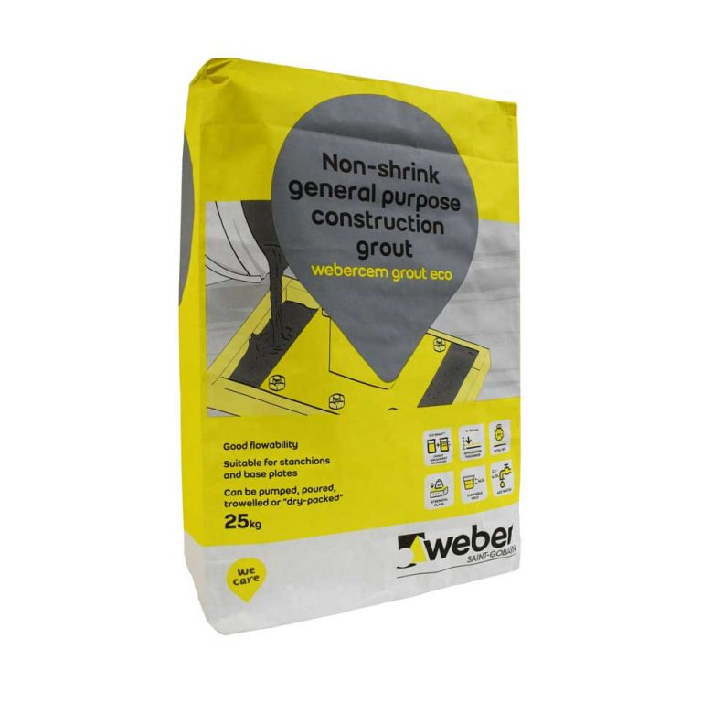 webercem grout eco