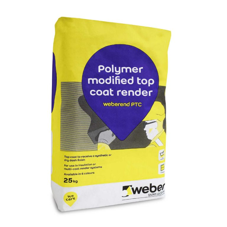 weberend PTC - polymer top coat render