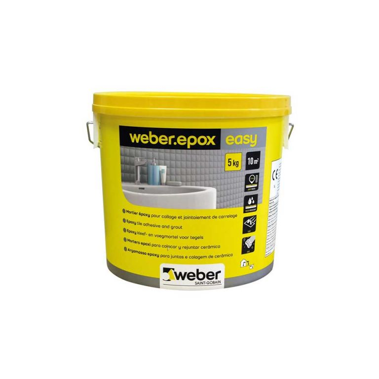 weberepox easy – ready mixed grout and tile adhesive
