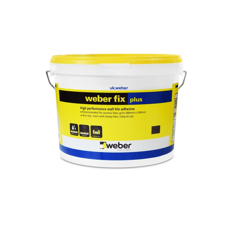 weberfix plus — ready mixed wall tile adhesive for walls