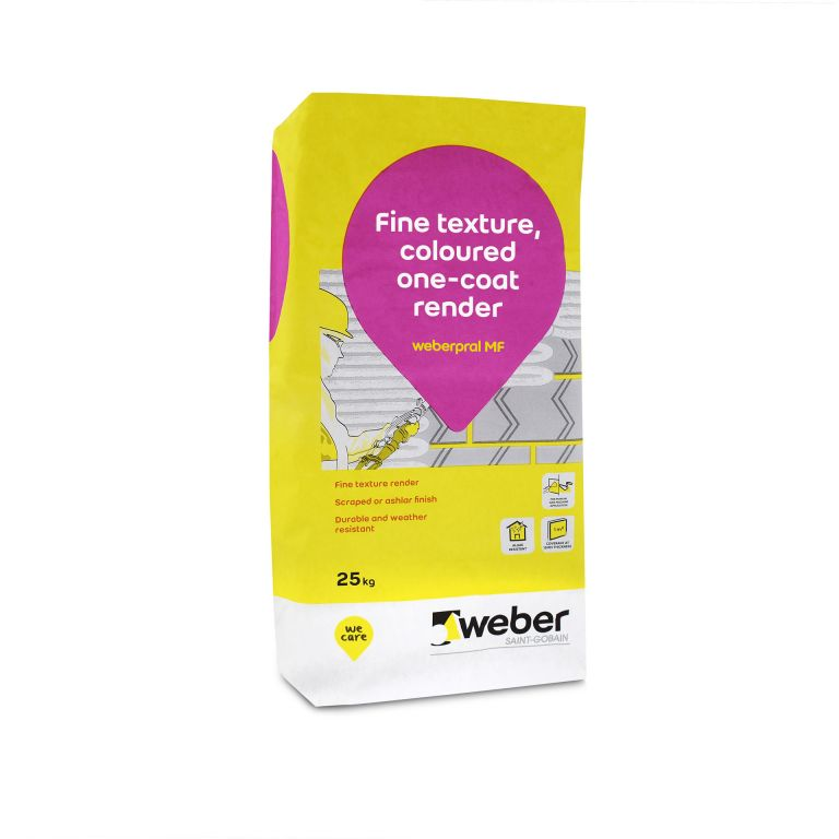 weberpral MF — smooth render from Saint-Gobain Weber